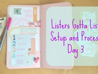 Listers Gotta List: Set up and Process Day 3 | #listersgottalist