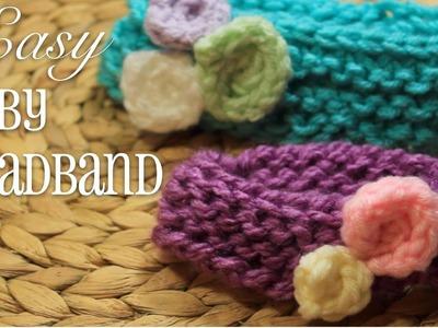 Loom Knitting: EASY Baby Headband!