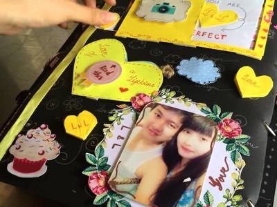 Make scrapbook for my dear( ANNI 8months)