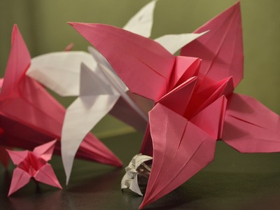 Origami: How to Make a Paper Lily