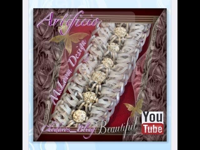 Rainbow Loom Band Artifacio Bracelet Tutorial. How to