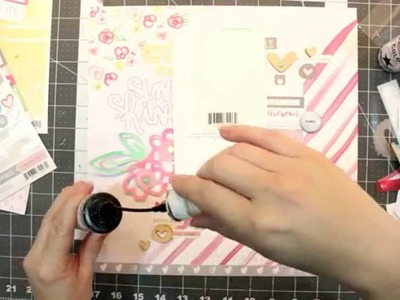 Scrapbook Process Video: The Cut Shoppe - Meet Me In the Sunshine