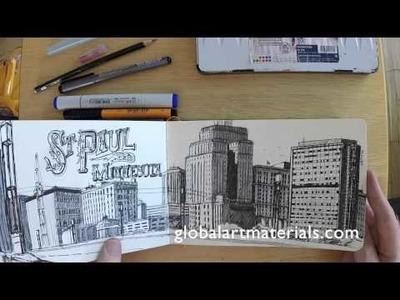 Sketchbooks - Paper and Media