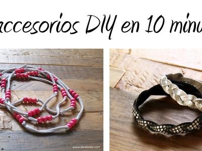 Tutorial DIY:2 accesorios en 10 minutos