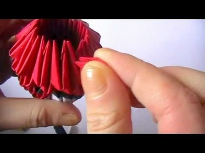 3D origami angry bird part 2
