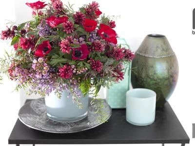 A spring bouquet: tease your senses
