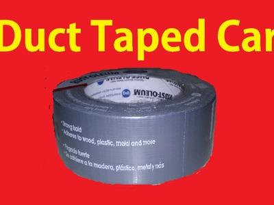 Automotive Fail Duct Tape Zip Tied Car Repair - DIY Custom Body Work