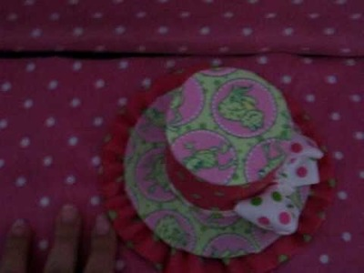 Boutique Frog Polka Dots Mini Top Hat Baby Bow Madness Wholesale