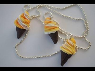 Candy Corn Soft Serve Ice Cream Tutorial