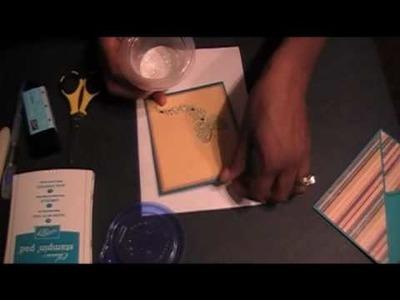 Card Making Tutorial Episode 2: Enveope Card