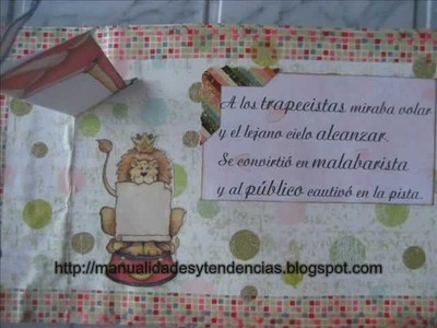 Cómo hacer un libro pop-up 3. How to make a pop-up book 3