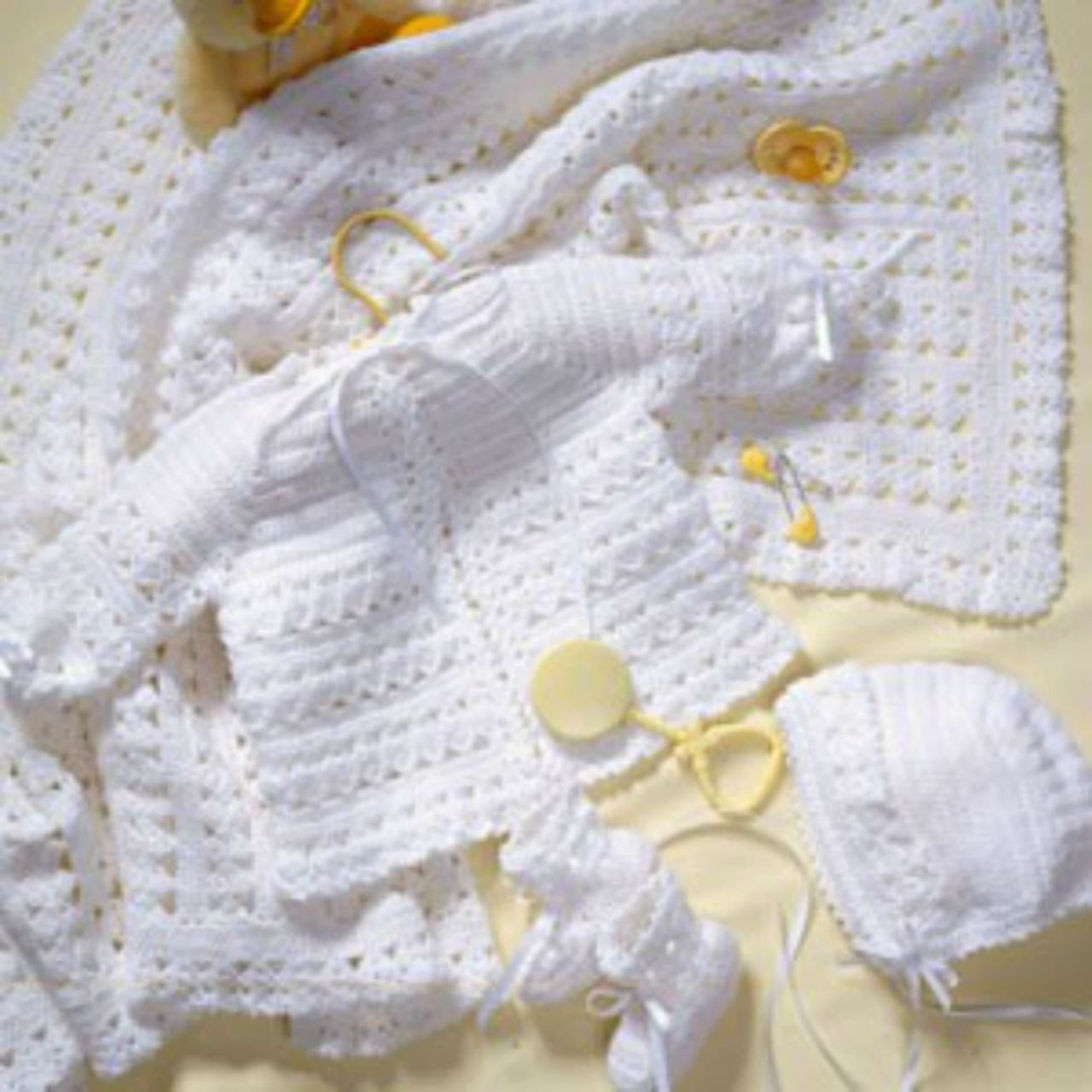 Crochet Along - Baby Layette. Bonnet - Video 2