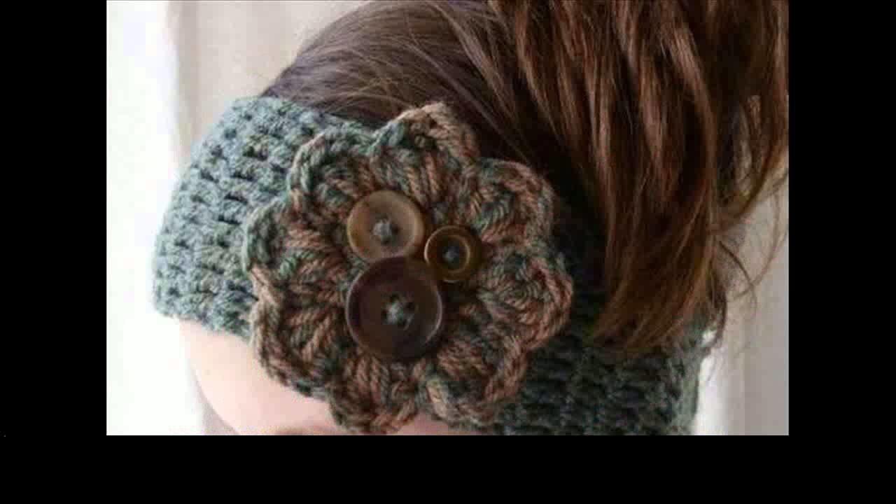 Crochet baby headband pattern