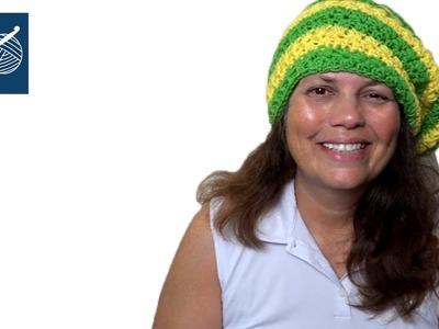 Crochet Geek Star Stitch Hat Tutorial Part 7 Left Hand