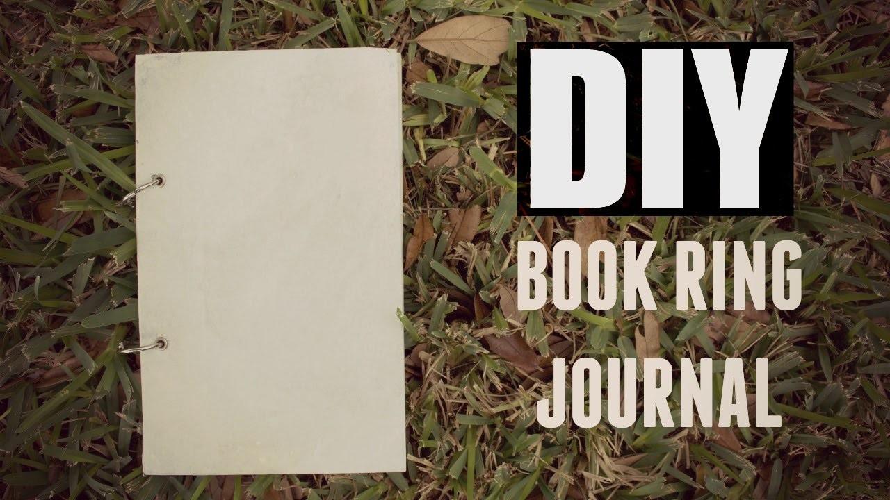 DIY Book Ring Journal