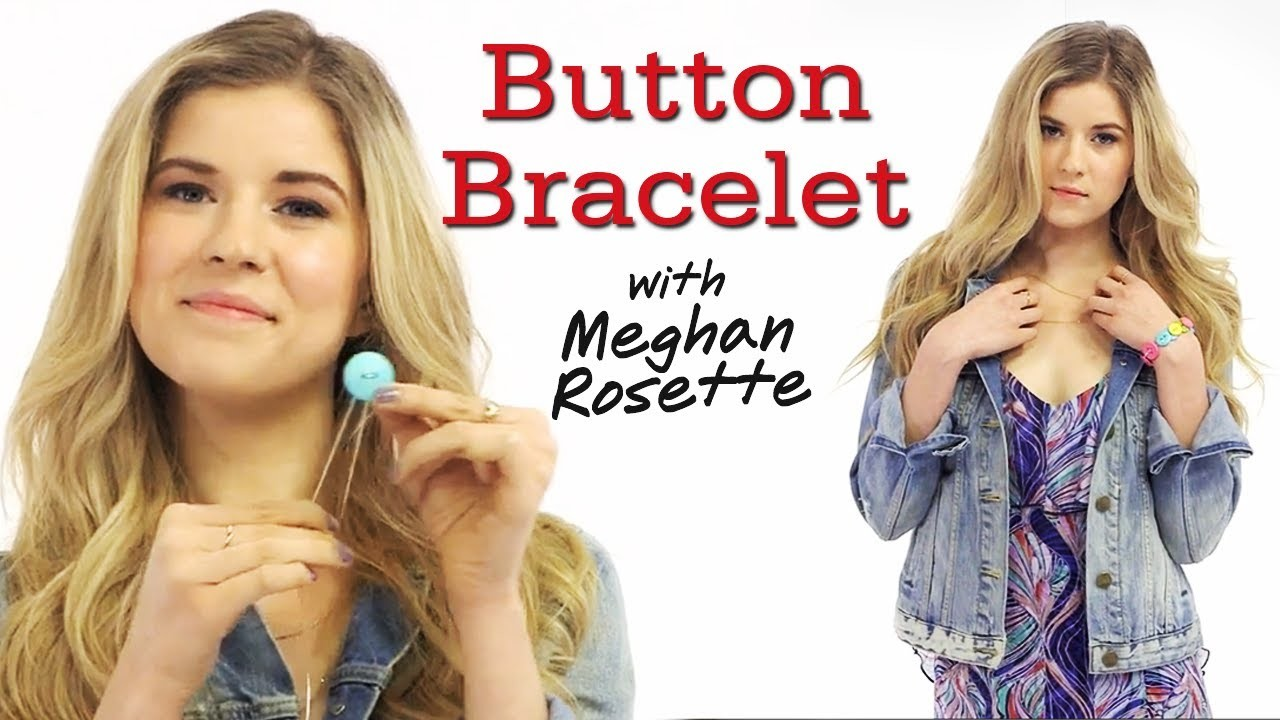 DIY Button Bracelet with MeghanRosette - #17Daily