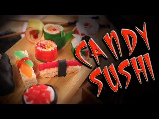 DIY Candy Sushi | Dessert Ideas | Just Add Sugar