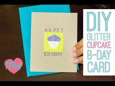DIY Cupcake Birthday Card