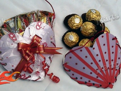 DIY Gift Idea | Chocolate Bag (How to make) | JK Arts 134