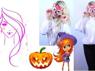 Diy Halloween Costume. DIY Fox Mask