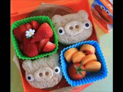 Easy and Creative Kids Lunchbox Ideas