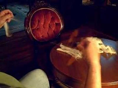 Fancy Kitty Hourglass Hand Spinner