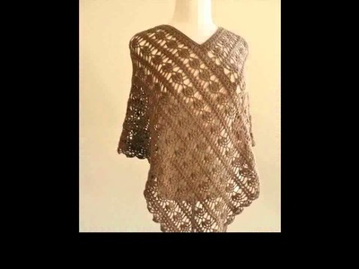 Free crochet poncho ideas