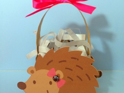 Hedgehog Valentine Treat Bag Using Cricut Explore