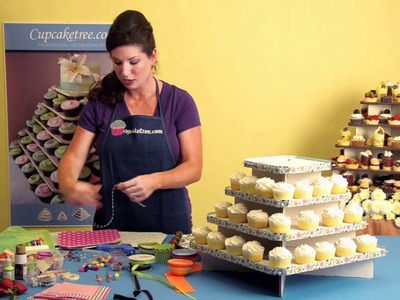 How to decorate your Cupcaketree cupcake stand for your wedding or party
