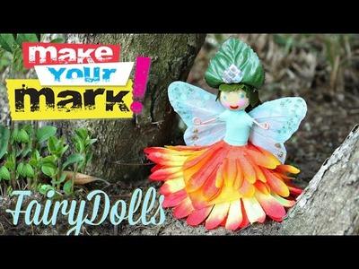How to: Flower Fairy Dolls DIY