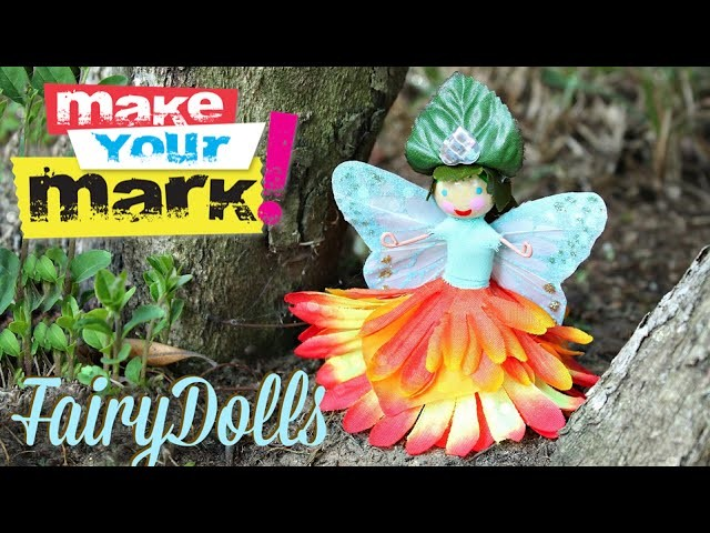 How to: Flower Fairy Dolls DIY
