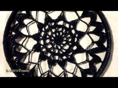 How To Make A Beautiful Black Doily Dreamcatcher - DIY Crafts Tutorial - Guidecentral