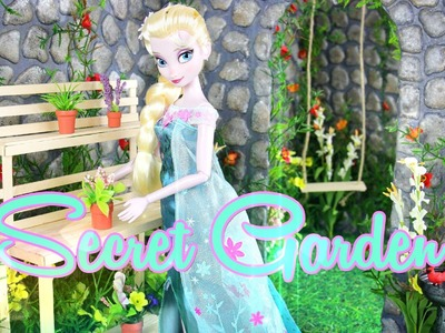 How to Make a Doll Secret Garden - Doll Crafts