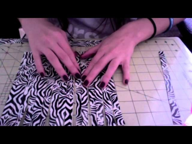 How to make a duct tape woven womens wallet!