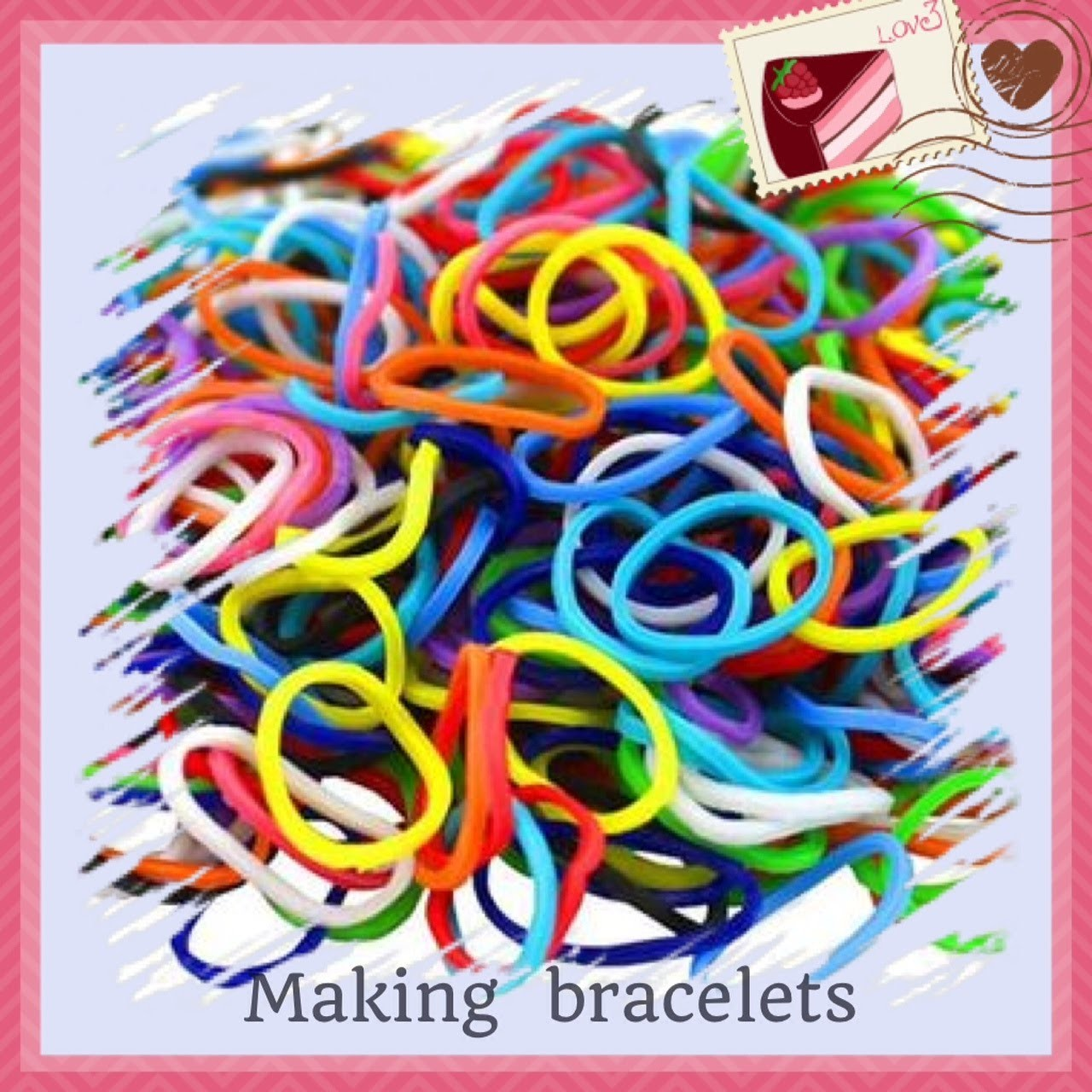 How to make a fishtail loom band friendship bracelet  by hand tutorial DIY beginners must see!! Easy