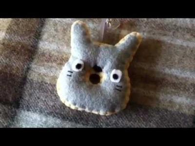 How to Make a Kawaii Totoro Doughnut Plushie