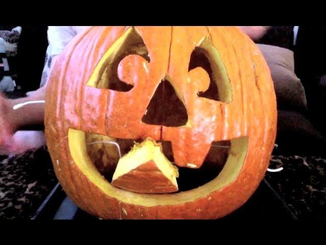 How To Make a Mechanical Pumpkin
