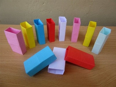 How to Make a Paper Dominos - Easy Tutorials