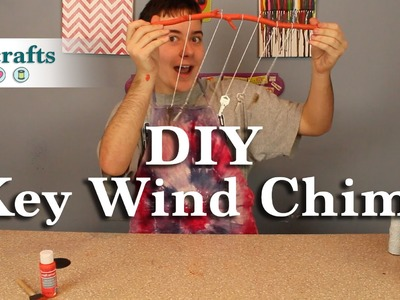 How to Make a Wind Chime with Recycled Keys