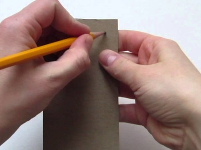 How To Make an Doll Size End Table for American Girl Dolls