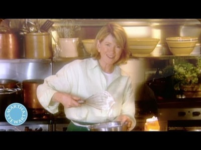 How to Make Creme Fraiche - Throwback Thursday - Martha Stewart