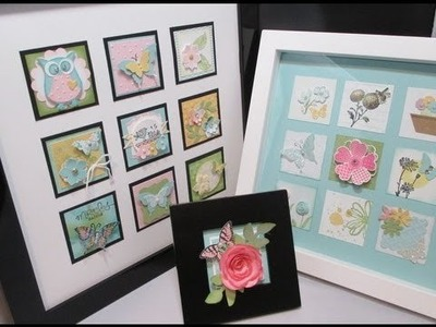 Inchie Frame with Stampin'Up! product