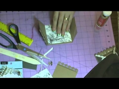 Journal Tag holder. CARD tutorial