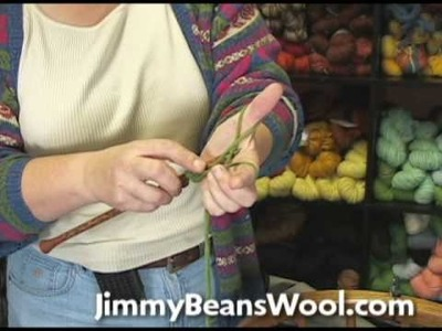 Knitting Instructional Video - How to do a German Twisted Cast On