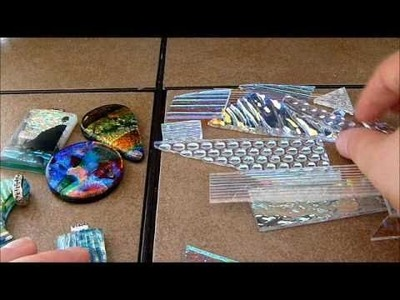 Layering dichroic glass for fused jewelry by AAE Glass