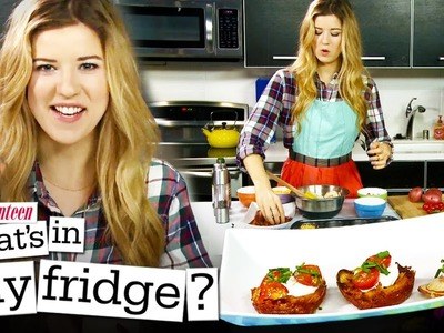 Mini Bacon Potato Crisps! - What's In My Fridge? with MeghanRosette