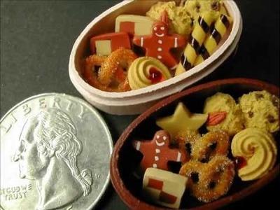 Mini clay demo #1 - Cookies 1:12 Scale