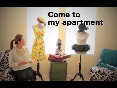 New Apartment.Room.Closet Tour |Fashion Inspirations