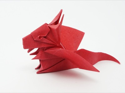 Origami Baby Dragon (Jo Nakashima)