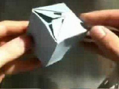 Origami: cube